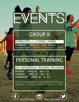 GX Fitness Events