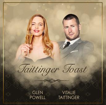 23rd Show Taittinger Toast Graphic