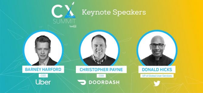 CX Summit Keynote Speaker Graphic