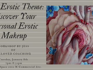 Upcoming Core Erotic Theme Class - January 8th!!
