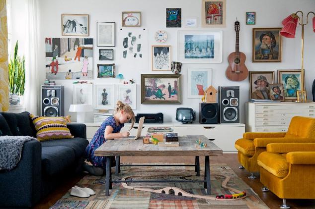 Family Living av Fotograf Bodil Johansson
