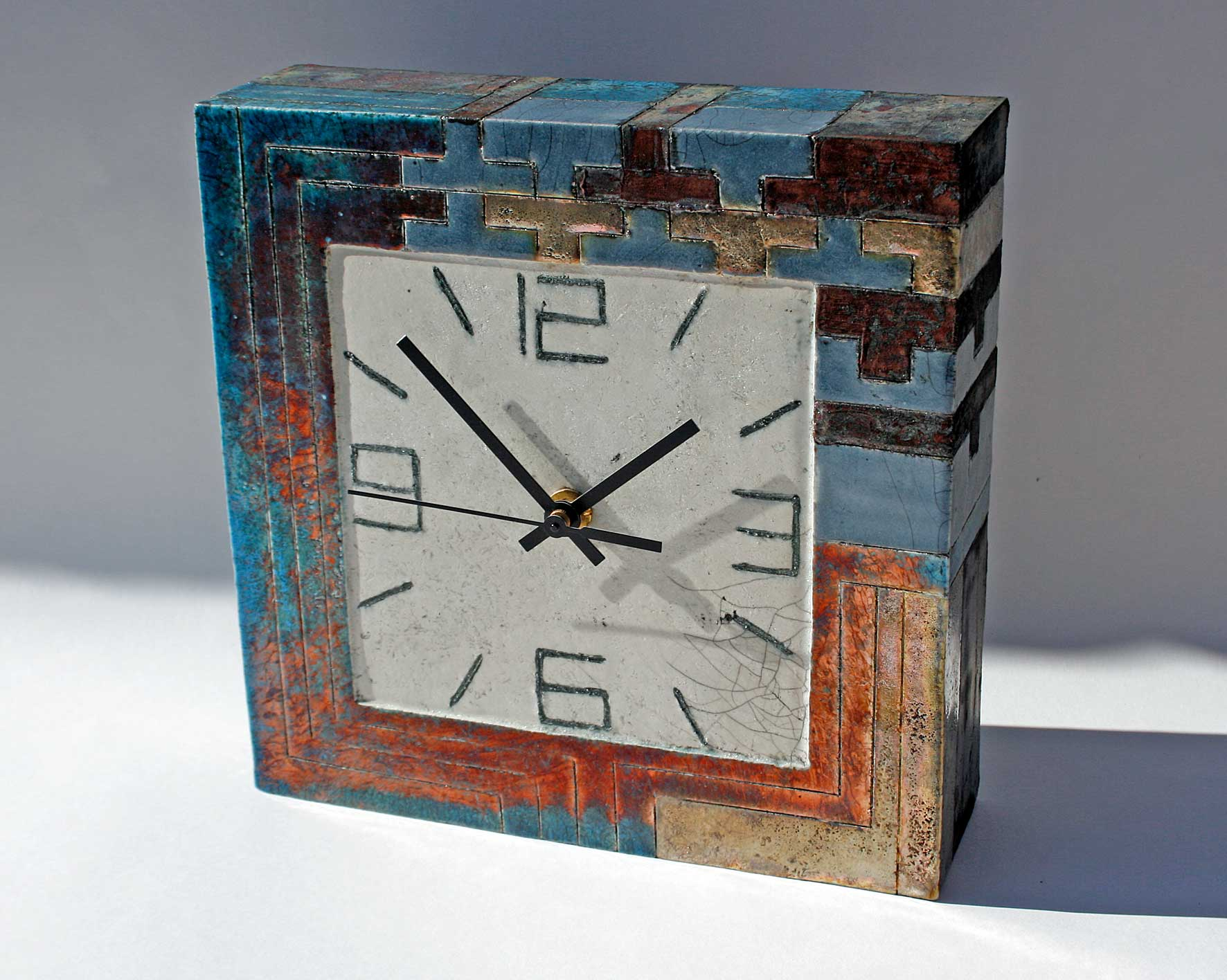 Large square clock 2