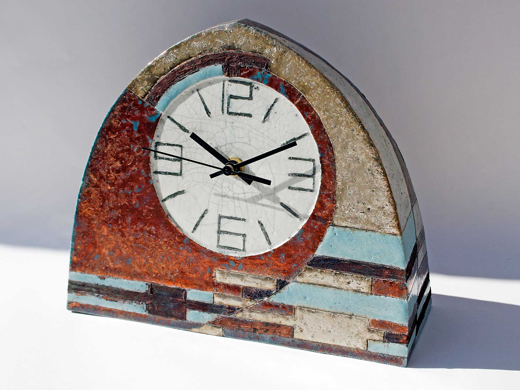Large arch clock 1