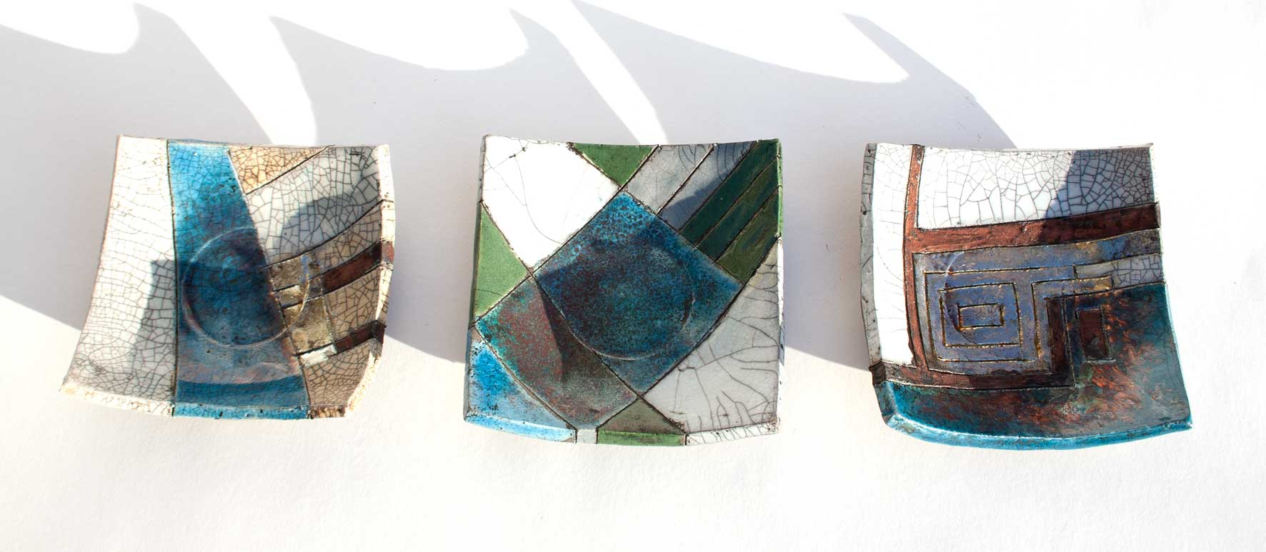 Small dishes (8cmx8cm) No13-15