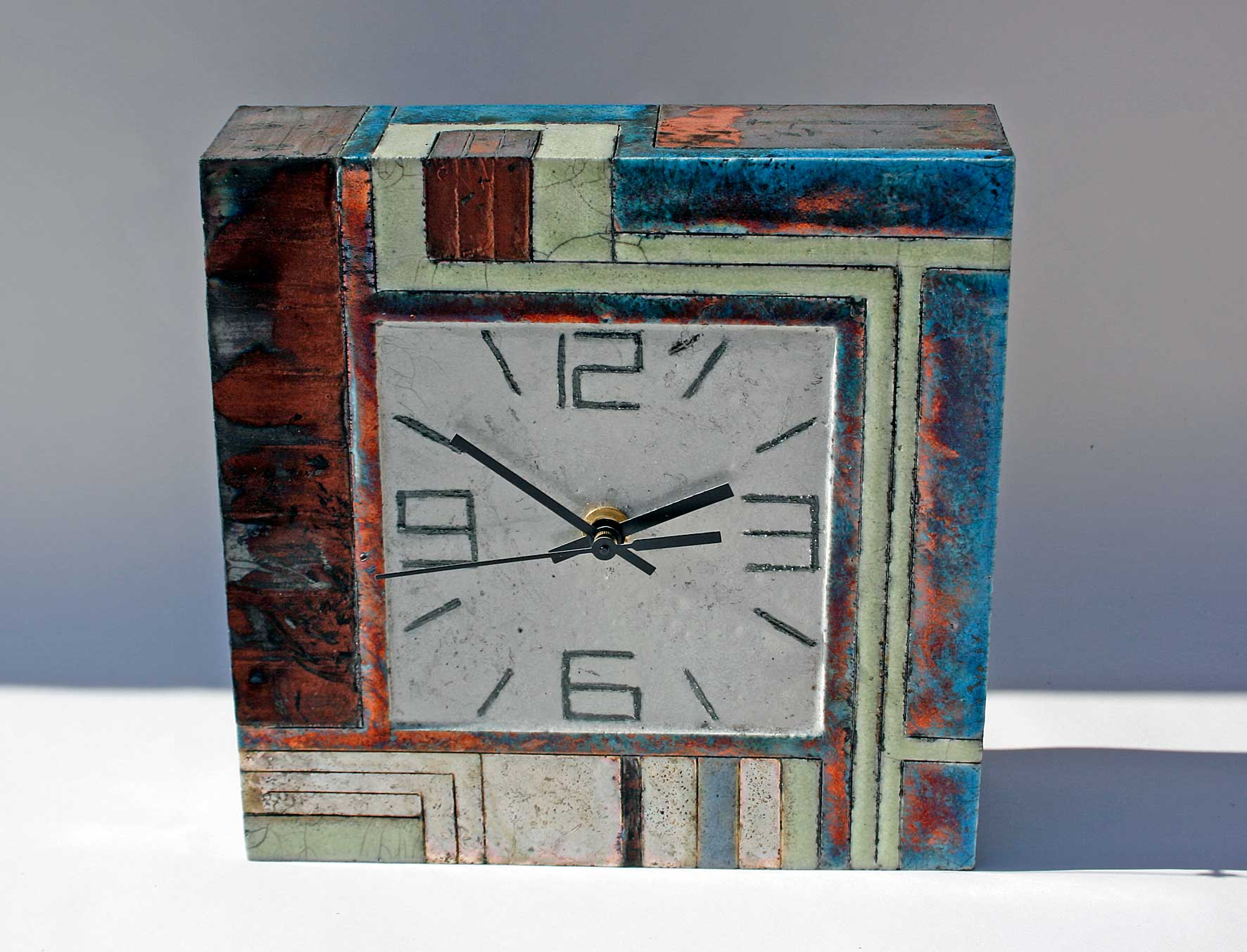 Large square clock 1