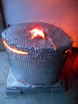 Kiln Heated up to 1000 degrees