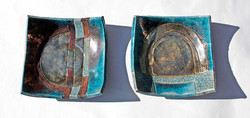 Small dishes (8cmx8cm) No19-20