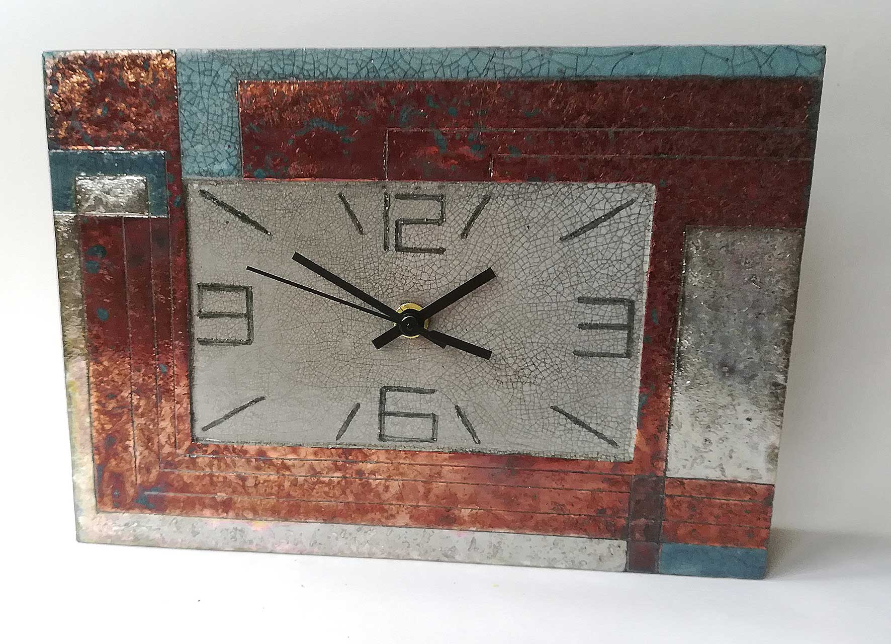 Large rectangle clock