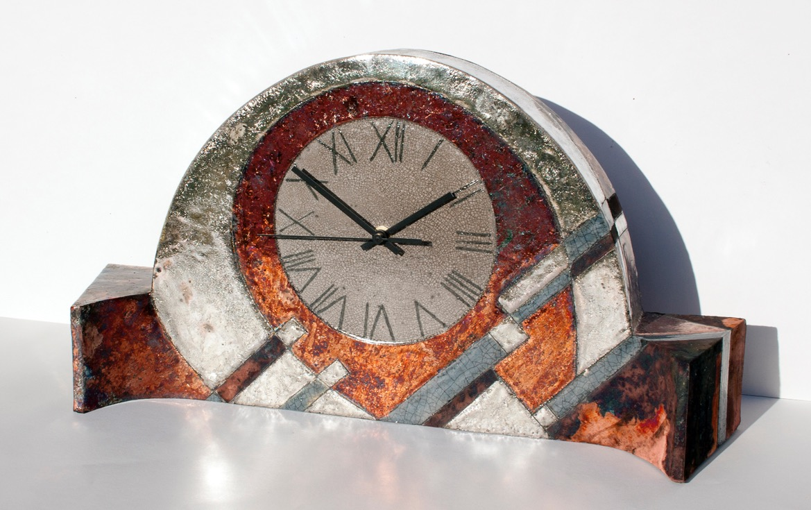 Large mantle clock