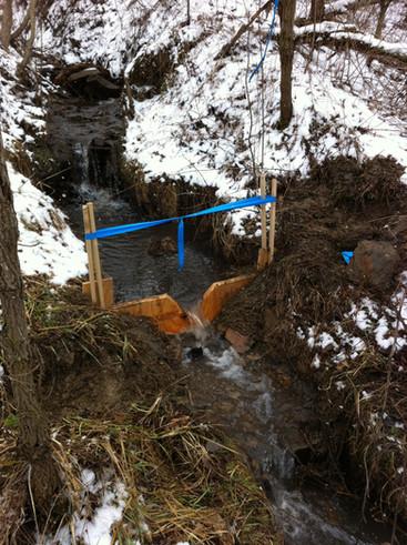 Weir Installation