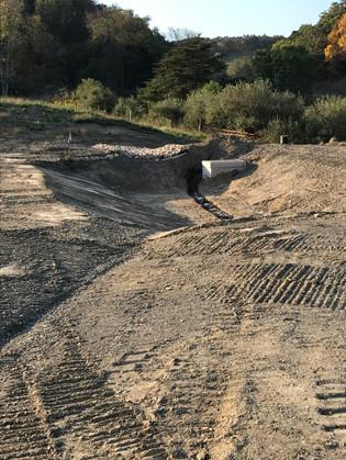 Sediment Trap for Access Road