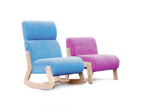 Кресло детское с высокой спинкой WOODY