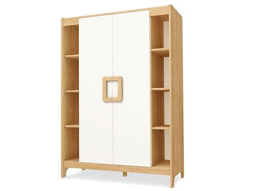Шкаф 2-х дверный с открытыми полками FAMILY
