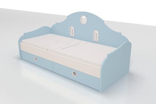 Кровать со спинкой Амстердам
