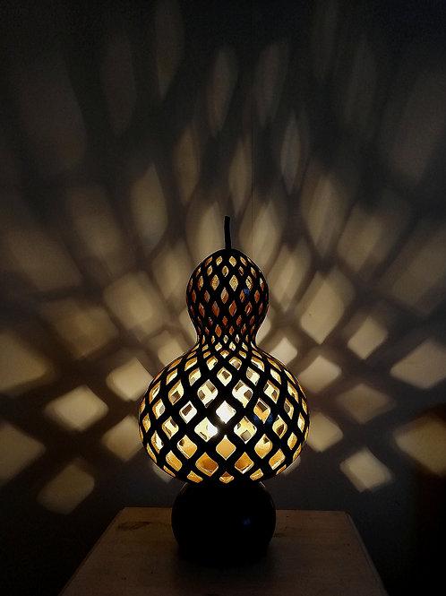Verdigris Gourd Lamp