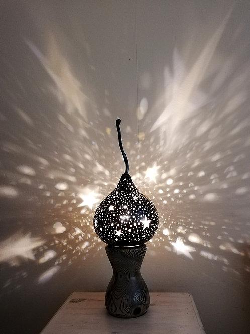 Dazzling Midnight Sky Gourd Lamp