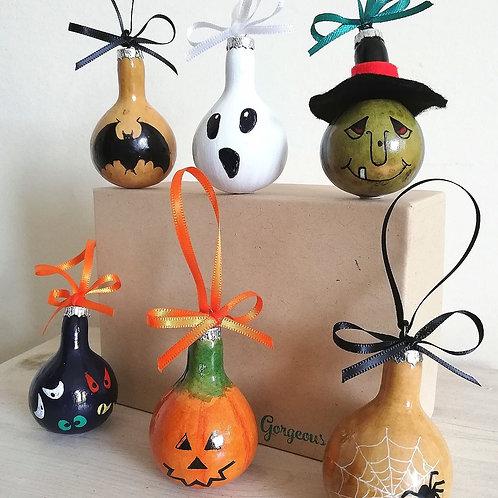 Individual Hallowe'en Gourdble
