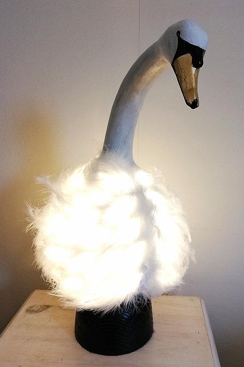'Synthia' Swan Gourd Lamp
