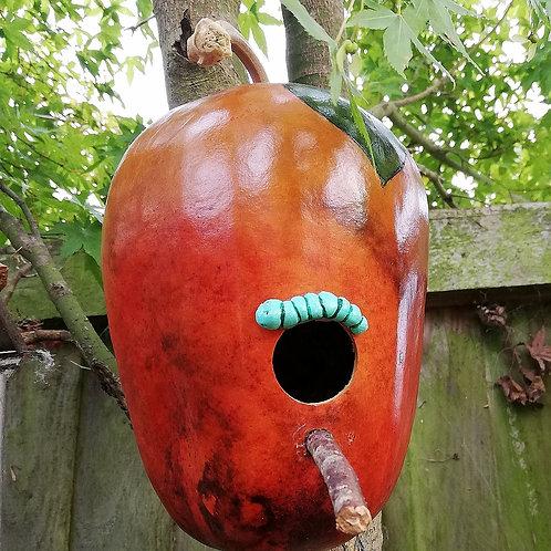 Apple Gourd Birdhouse