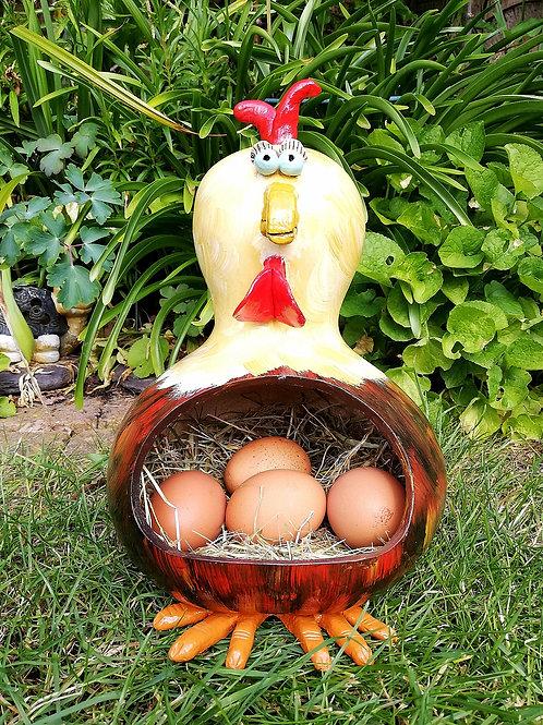 Lydia Chicken Gourd Egg Holder