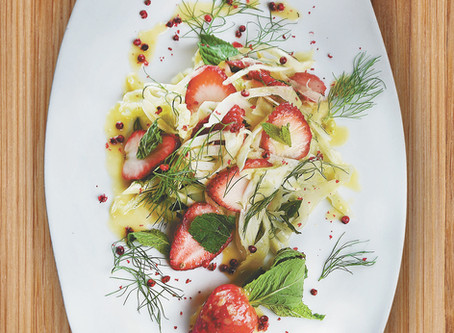 ONE COURSE, THREE CHEFS - SUMMER SALADS