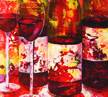 Between art and wine