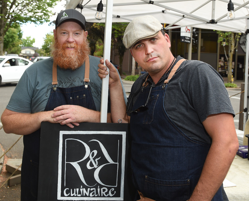 Red Hauge and Raul Salinas III the R&R of R&R Culinaire.