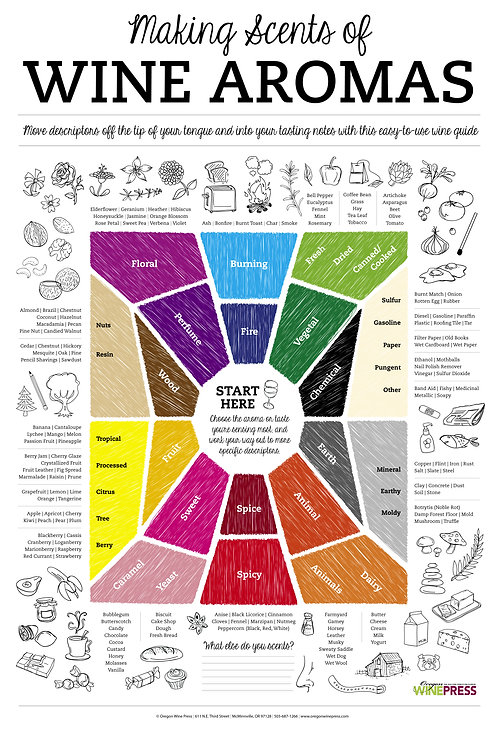 Making Scents of Wine Aromas Poster