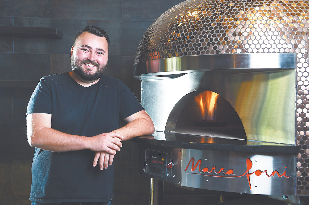 Chef/co-owner Jeremy Whyte of Pizza Capo