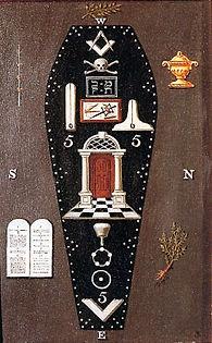 Tableau de Loge Maçonnique