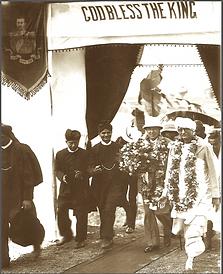gouverneur du bengale avec bhakti siddhanta