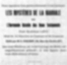 Encart publicitaire d'une revue occultiste en 1923µ