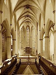 église des Frères prêcheurs où Eckhart était Prieur