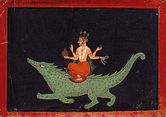 Varuna et le Makara