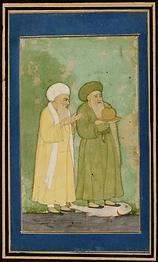 Élie et Al-Khadir portant le « Vase d'immortalité »
