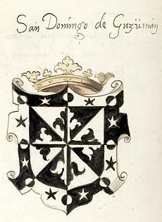 Armes de Domingo Núñez de Guzmán