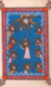 Manuscrit médévial spiritualité rhénane