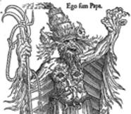 caricature antipapiste