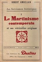 Le Martinisme contemporain (Robert Ambelain)