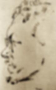 Aguéli par Yngve Berg (1887-1963)