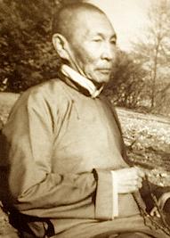 Le Tilopa Hutukhtu à la fin de sa vie
