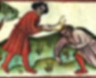 Caïn tuant Abel avec une machoire