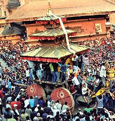Bisket Yatra fête Népal