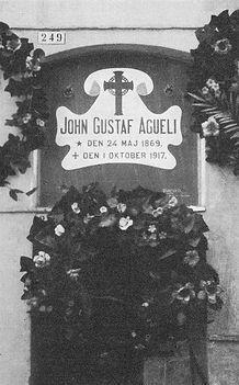 Tombe Ivan Agéli (Sala, Suède)