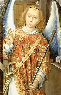 Archange Gabriel  «L'Annonciation» François de Dijon XVe