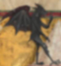 démon peinture médiévale Italie