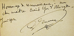 Envoi de Papus à Saint-Yves (1902)