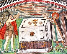 sacrifice d'Abel et de Melki-Tsedek