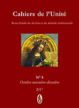 René Guénon - Cahiers de l'Unité N° 8