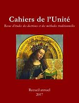 René Guénon - Cahiers de l'Unité - Recueil 2017
